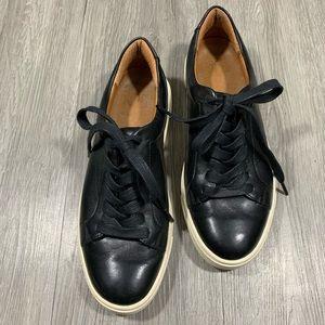 FRYE Ivy Low Lace Black Sneakers size 6